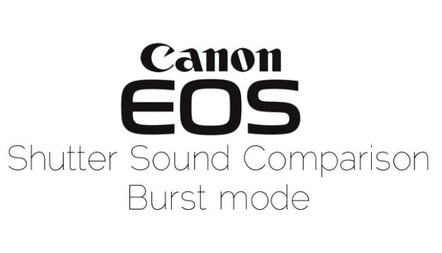 comparatie camere canon EOS