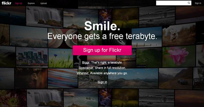 flickr nou design