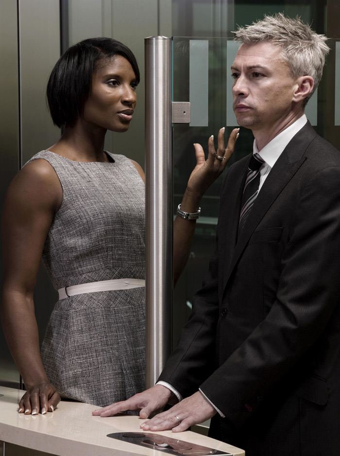 Denise Lewis and Jon Foto: Brian Griffin Hon FRPS